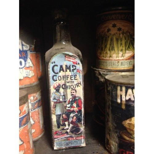 Camp Coffee with Chicory Bottle