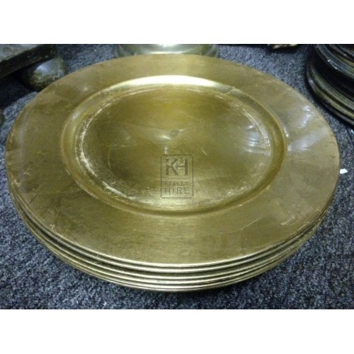 Gold Effect Plate
