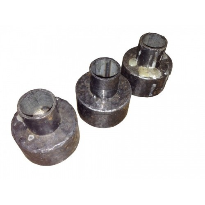 Small Circular Iron Candle Holder