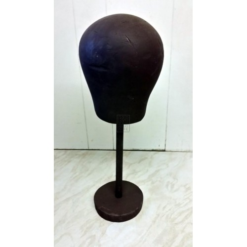Wig block on stand