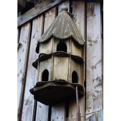 Wall mounted dove cot