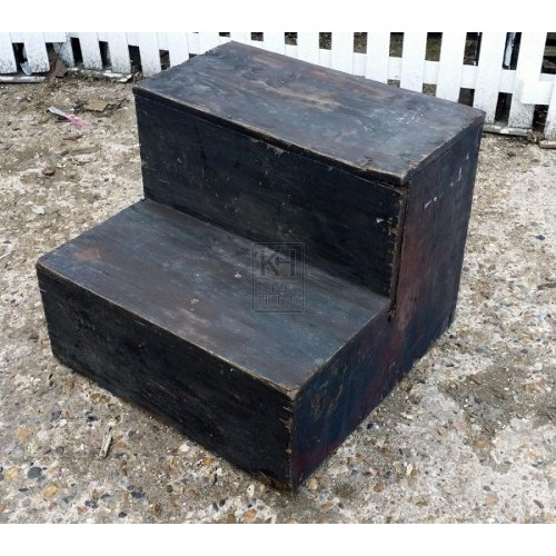 Wood mounting block