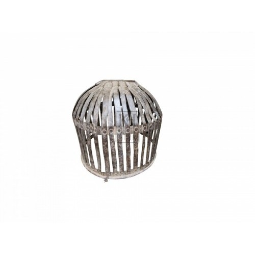 Iron slatted dome lantern