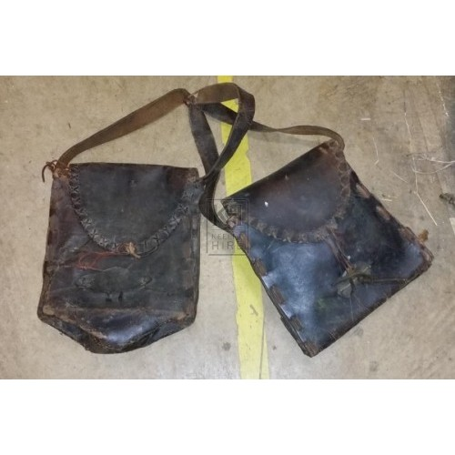 A pair of saddle bags
