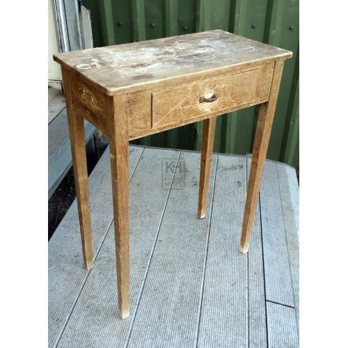 Small square plain table