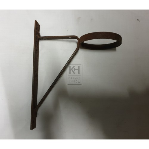 Small iron wall bracket