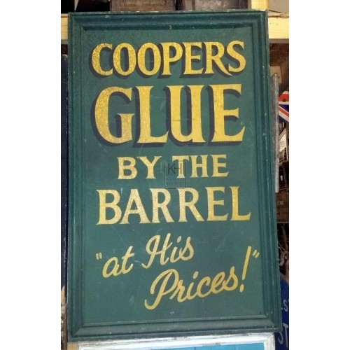 Coopers Glue sign