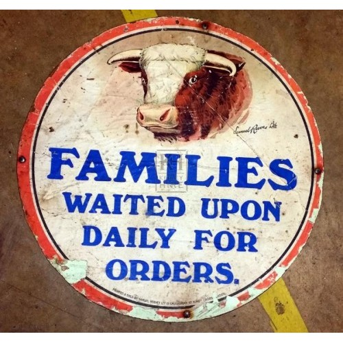Butchers sign - Beef