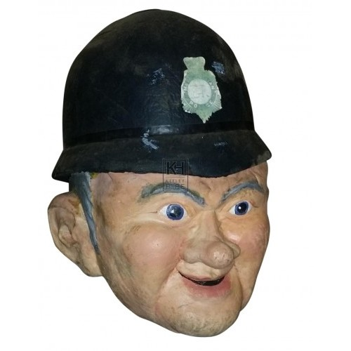 Giant head Policeman