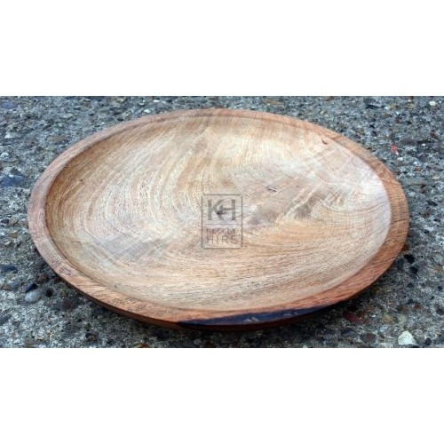 Small new wood plate
