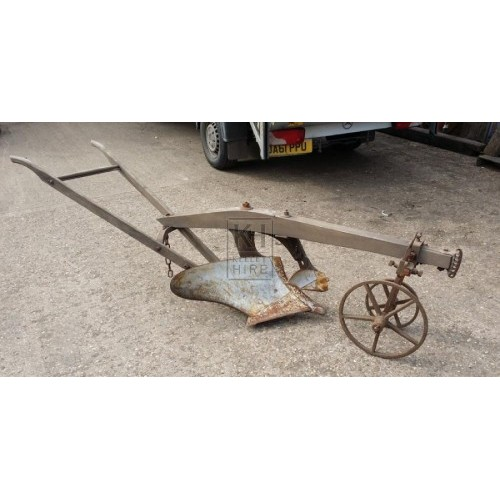 Farm Plough with Guide Wheels