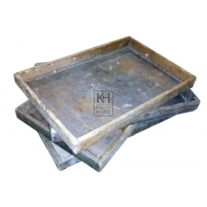 Period wood bread trays
