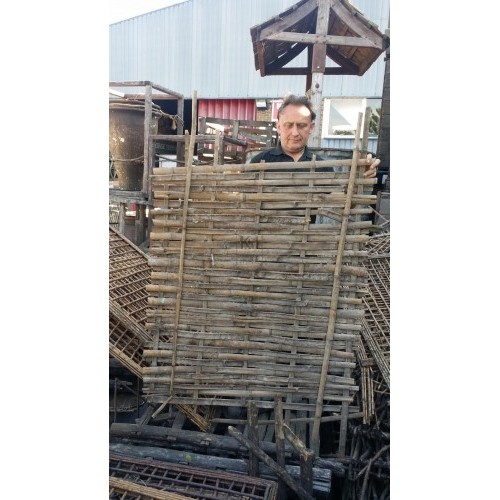 Split bamboo panels