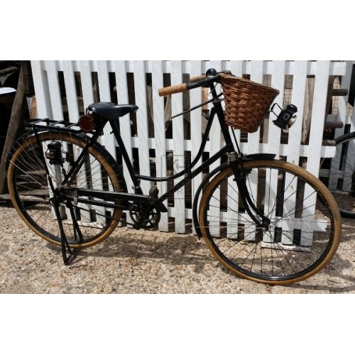 Ladies Victorian bicycle