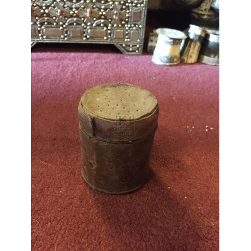 Round Leather Covered Sander