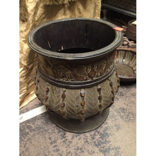 Decorative Wooden Pot