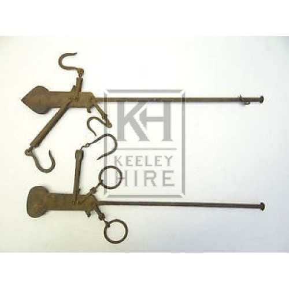 Iron scale arm