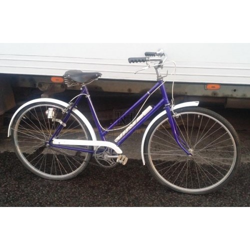 1960s bicycle - Ladies blue & white