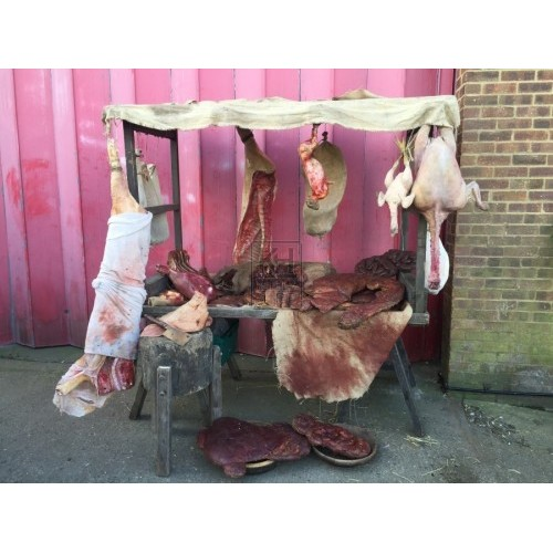 Medieval Butchers Market Stall
