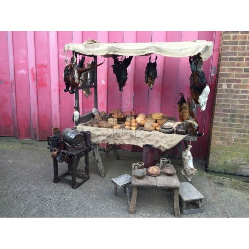 Medieval Pies and Game Dressing