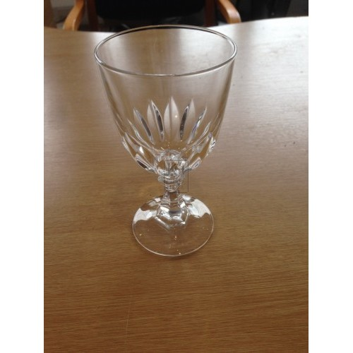 Cut Glass Goblet