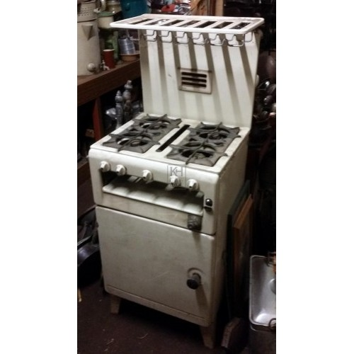 Cream colour 1940s cooker