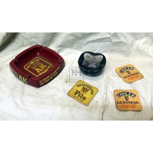 Bar dressing - ash trays