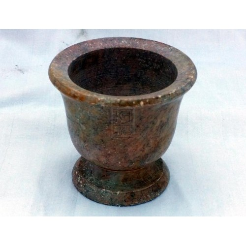 Stone small mortar & pestle