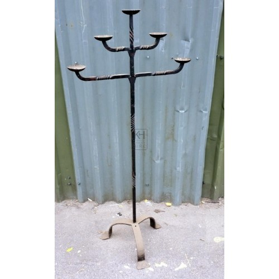 FS iron 5-light candelabra