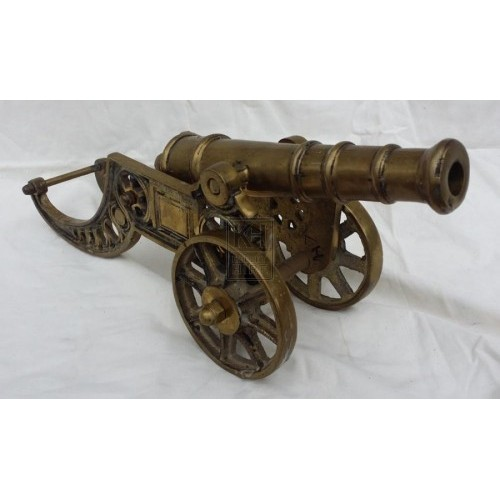 Brass cannon # 1