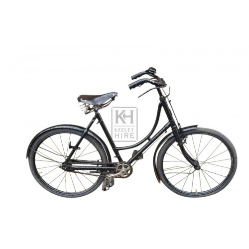 50s girls bicycle with basket