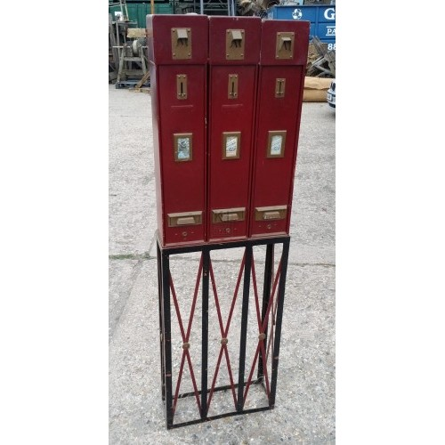 Vintage freestanding cigarette machine