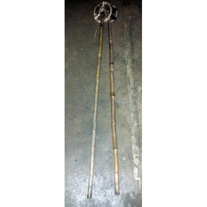 Period ski poles - pair