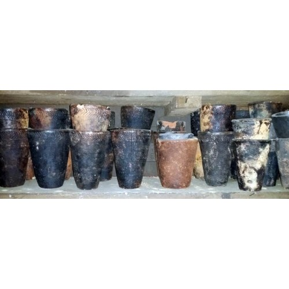 Large ceramic beakers