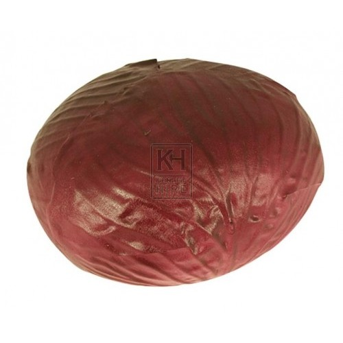 Red cabbage round