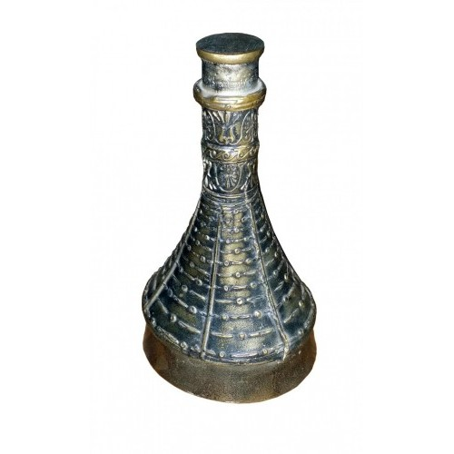 Small brass potion bottle