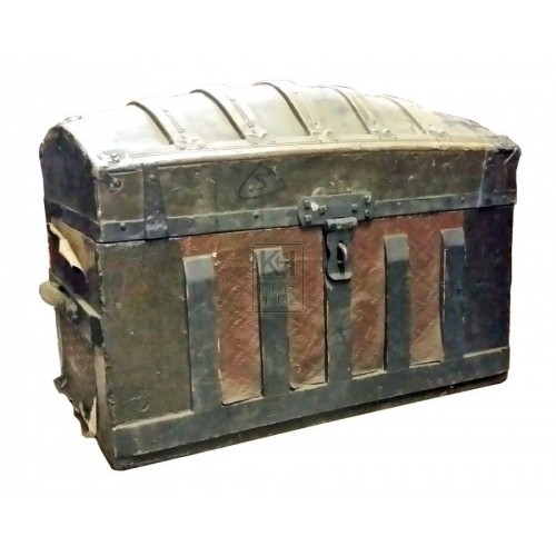 Large dome top treasure chest