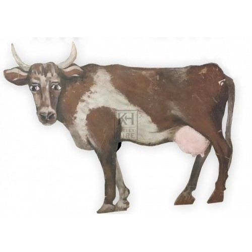 Large cow cut out