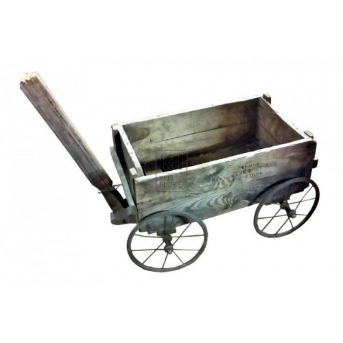 Childs crate trolley