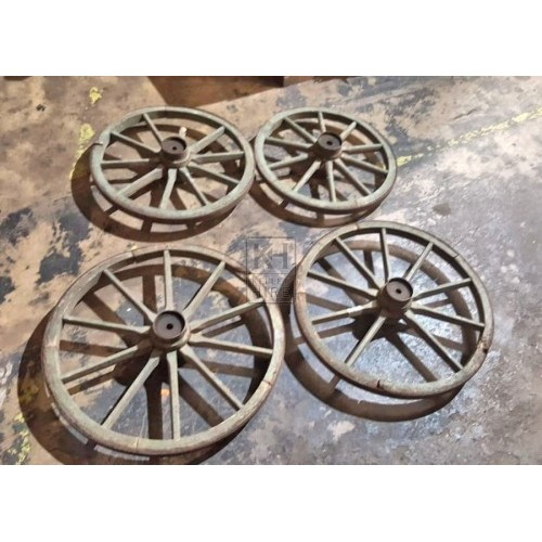 Medium Cart Wheels