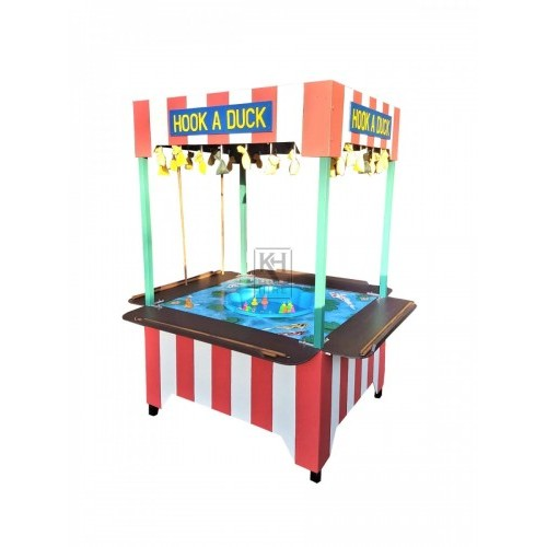 Hook a Duck fairground stall