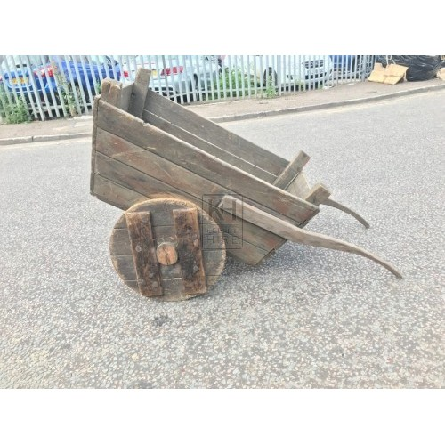 Solid Wheel Cart Barrow