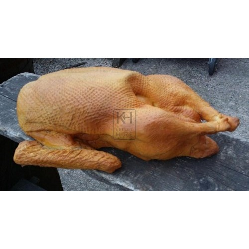 Large cooked goose - rubber
