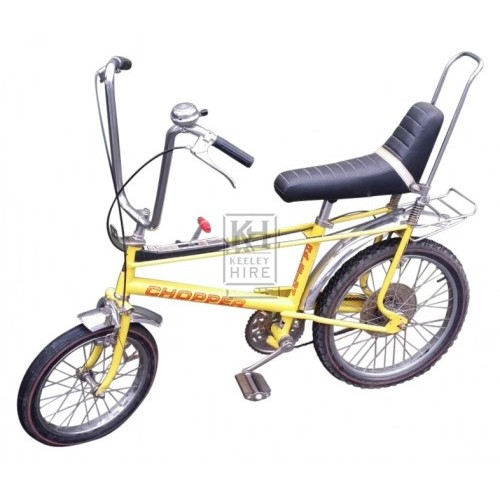 Raleigh Chopper yellow MK2