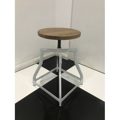 White Jewellers Stool