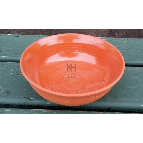 Light brown ceramic bowl