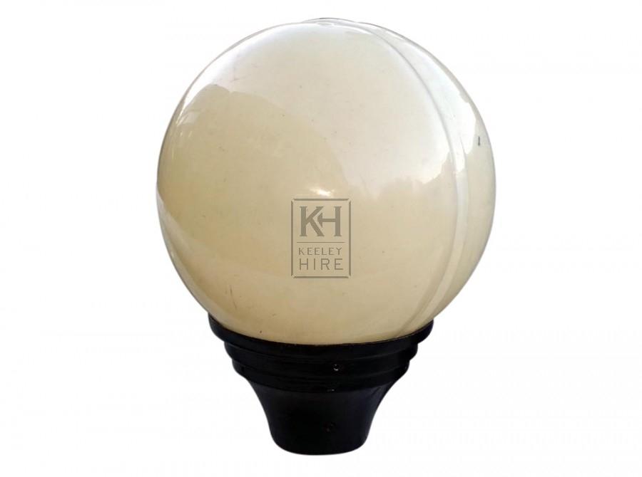 Globe Street Lamp Top - Plastic