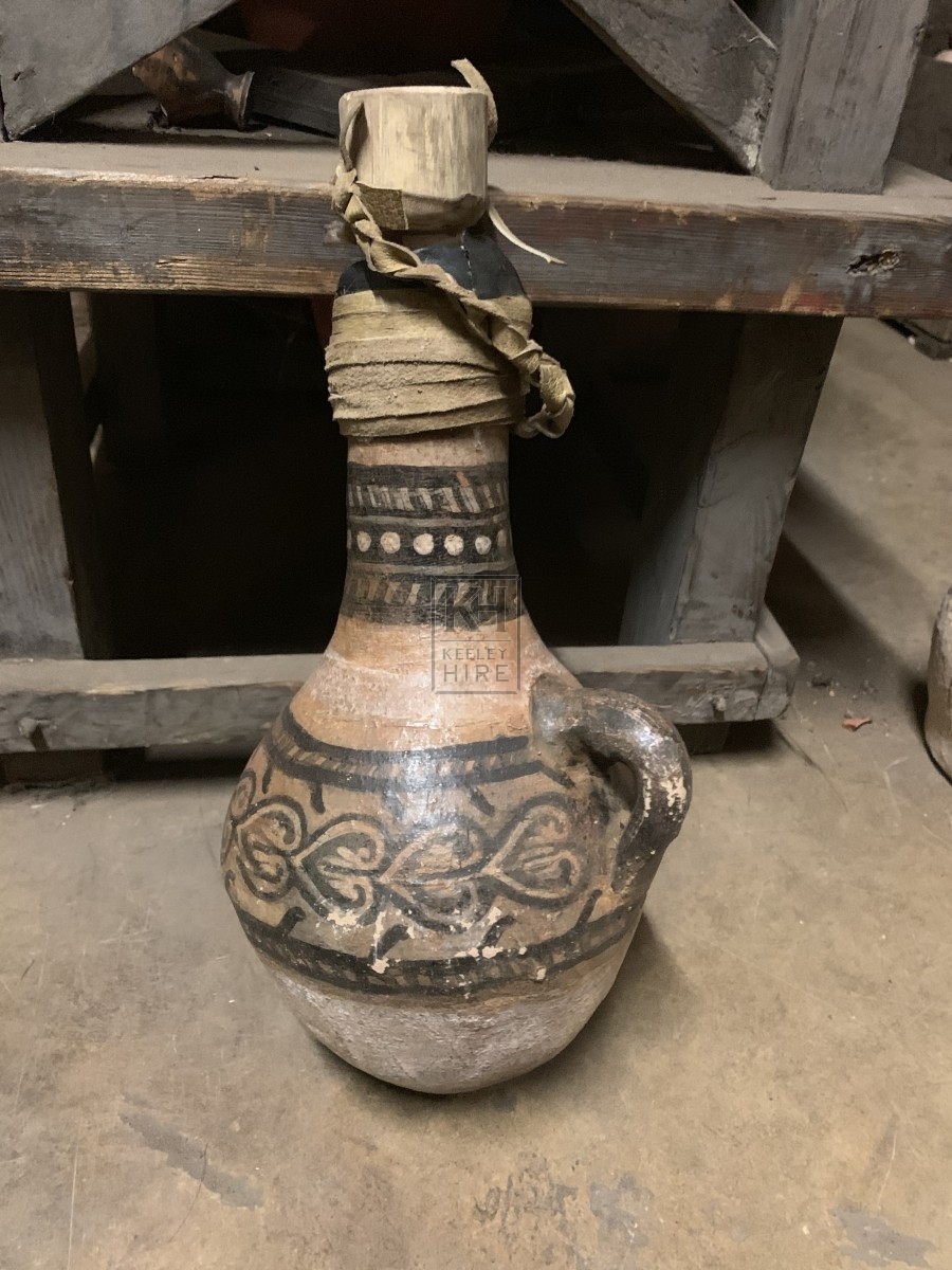 Bulbous Bottom Greek Urn