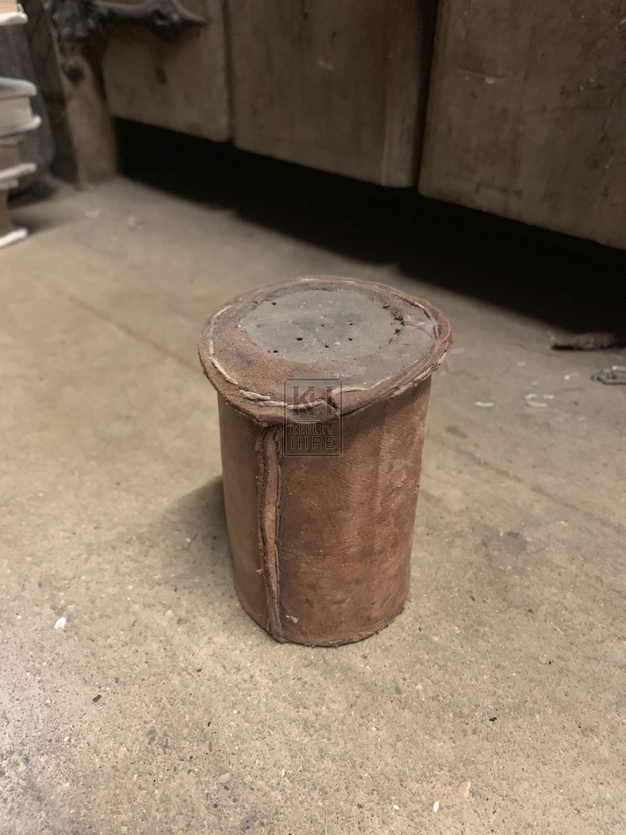 Narrow Leather Wrapped Sander