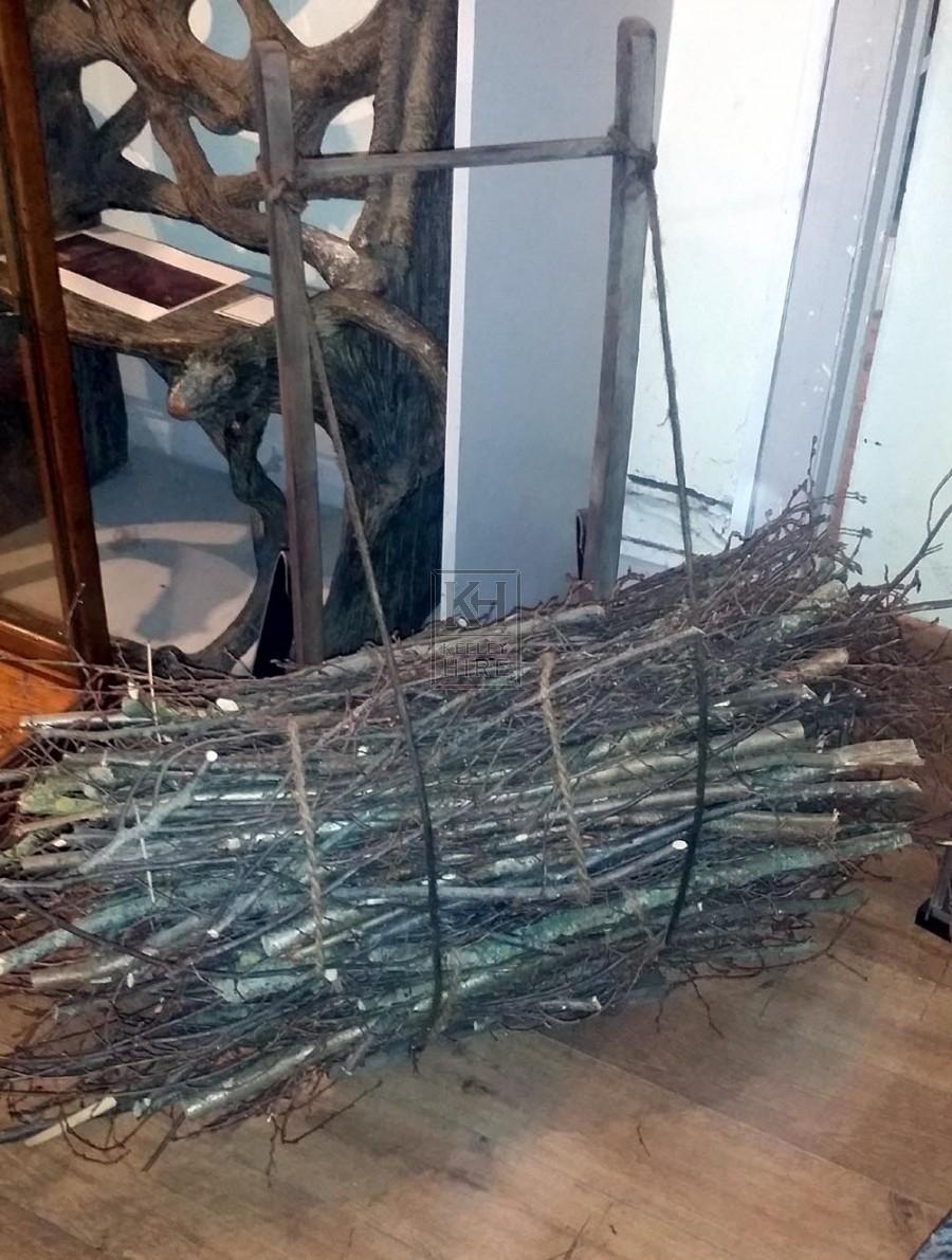 Twig bundle back pack